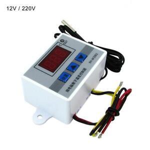 12V 220V Digital LED Temperature Controller Thermostat Control Switch Probe MC