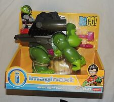 NEW Fisher Price Imaginext Teen Titans Go Beast Boy & Gorilla Cyborg Raven Robin