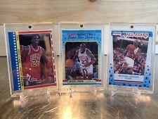 1987-88 Fleer Michael Jordan Sticker LOT #2 88 & 89 PSA BGS Nice! SHARP