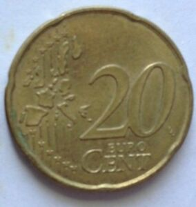 France 1999 20 Euro Cents coin