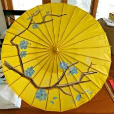 Classic Hand Painted Chinese Oil Paper Umbrella Parasol Classical Dance Cosplay