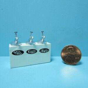 Dollhouse Miniature Ice Cream Shop Syrup Dispenser for Sundaes MUL3369
