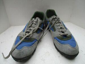 Shimano SH-M031 SPD blue retro cycling shoes excellent condition EU45