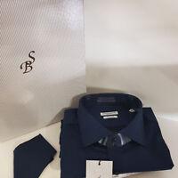"""Camicia Uomo """"Antica Sartoria Bordini Napoli""""-Art.TWill  -100% HandMade Italy"""