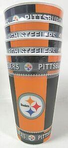NFL Pittsburgh Steelers 16oz 3D Tumbler - 4 Pack