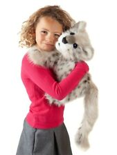 SNOW LEOPARD CUB Puppet 3137 ~ NEW for 2019 ~ FREE SHIP/USA ~ Folkmanis