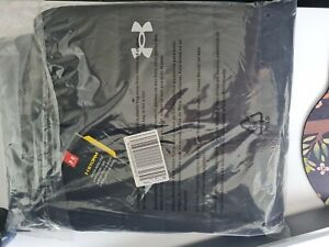 Under Armour Storm ColdGear Hybrid Run Mens Jacket Fitted XL Black