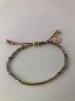 Labradorite Power Beads Gemstone Bracelet: Transformation, Calming