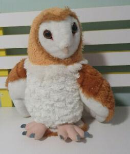 Barn Owl soft toy plush toy 32cm Cuddlekins by WILD REPUBLIC