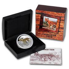 2011 Tuvalu 1 oz Silver Tasmanian Tiger Proof - SKU #59195