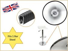 FOR METAL BASE SURROUND KITCHEN BAR STOOL REPLACEMENT RUBBER EDGE TRIM SEAL