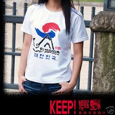T Shirt koreanische Alphabet Kurzarm Mann Frau Neu&OVP