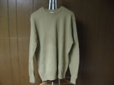 Vintage Men's Garan L Large Beige Sweater