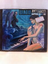 Italian Music Cd Biagio Antonacci Album Sapesse Dire No Musica Italiana CD New