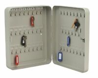 Key Cabinet SAFE Metal Secure Cupboard +45 Key Tags  Corrosion Resistance