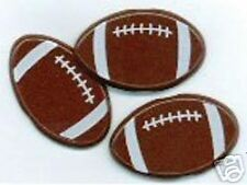 FOOTBALL Brads 12pc Eyelet Outlet Scrapbooking