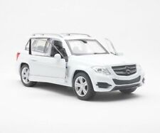 HOT DIECAST MERCEDES BENZ GLK-CLASS WHITE 1/34 DIECAST NEW CAR COLLECTION TOYS