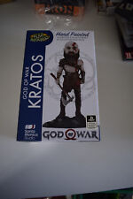 figurine figure god of war gow head knockers kratos 2018 ps4 neuf résine resin