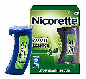 Nicorette Mini Lozenge Mint  2 MG 81ct