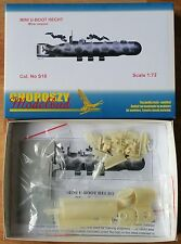 S18-MINI U-Boot Hecht MINIERA versione-Choroszy modelbud - 1/72