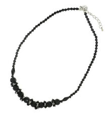 NEW OLD STOCK FACETED IMMITATION STONE COSTUME NECKLACE