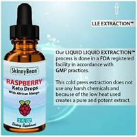 Raspberry Keto Diet Drops Fat Burn Weight Loss Supplement Accelerated Ketosis