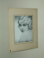 ODETTE ROUSSEAU FLORELLE PATHE photo photographie vintage actrice cinéma