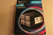 Member Mark HP 952XL Black Inkjet Cartridge Printer 2 Pack Ink-Save !!!