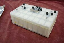 Unissued Ex Military sieve test unit block military test for chemical weapons