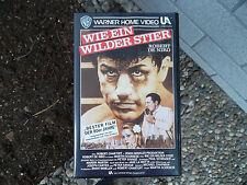 Wie ein wilder Stier, Robert De Niro, Peter Savage   u.v.a., VHS, gut erhalten