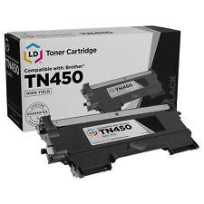 LD TN450 Black Laser Toner Cartridge for Brother Printer TN-450 MFC-7240 NEW