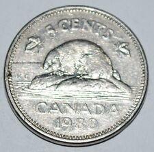 Canada 1988 5 Cents Elizabeth II Canadian Nickel Five Cent
