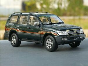 Green 1/18 1:18 Scale Toyota Land Cruiser 4700 Cooluze LC100 Diecast Car Model