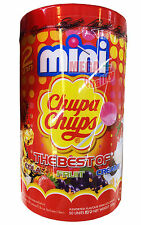50 x Mini Chupa Chups Lollipops The Best of COLA FRUIT CREAMY Strawberry Orange