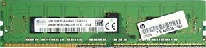 HP (809078-581) - 4GB PC4-19200T-R (DDR4-2400Mhz, 1RX8) ECC REG RAM