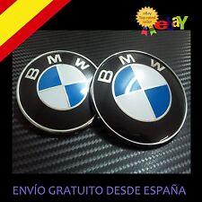PACK EMBLEMA INSIGNIA PARA BMW DE 74MM + 82MM capo y maletero E36 E46 E90