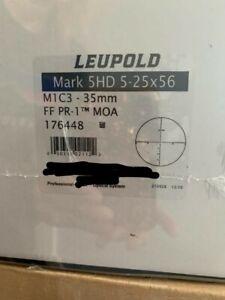 Leupold Mark 5HD 5-25x56 FF PR-1MOA 176448