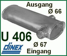 Unimog 406 416 403  U800 Auspuff  Auspufftopf MERCEDES Schalldämpfer M99
