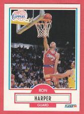 1990 Fleer Basketball # 86 Ron Harper -- Clippers -- Box 737