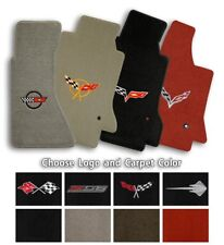 Chevrolet Corvette 2pc Ultimats Carpet Front Floor Mats - Choose Color & Logo