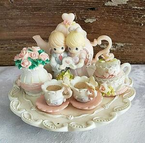 Precious Moments HAPPY ANNIVERSARY tea set ~2000~