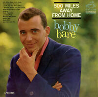 Bobby Bare - 500 Miles Away from Home [New CD]
