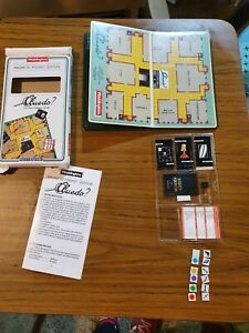 Waddingtons Vintage 1989 Cluedo Magnetic Pocket Travel Edition Of The Board Game