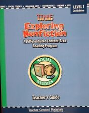 Exploring Nonfiction, Social Studies, Level 1, second edition (Time for Kids)