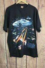 Stars Wars Episode 1 Phantom Menace Double Sided T Shirt USA Made NWT Sz L Black