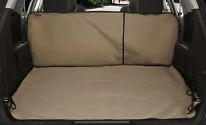 Vehicle Custom Cargo Area Liner Tan Fits 2007-12 Volkswagen Golf/GTI/Rabbit/R32