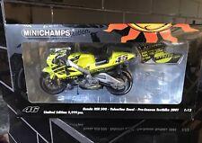 Rossi AGV Helmet MOTOGP Mugello 2005 MINICHAMPS 397050076 1/8th Scale