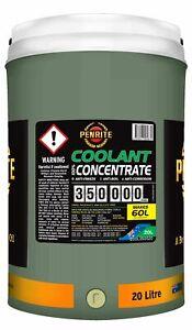 Penrite 350,000km Green Anti-Freeze Coolant Concentrate 20L fits Daihatsu F60...