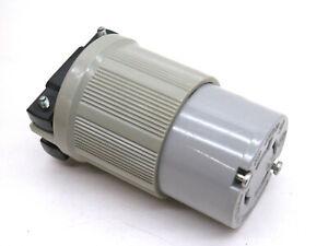 Arrow Hart-Lock 6544 Twist Locking Connector Body 30A 600V 3-Phase 3P 4W L17-30R
