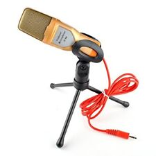 EINSKEY Condenser Microphone,3.5mm PlugPlay Home Stereo MIC With Desktop Tripod
